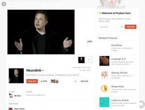 Product Hunt & Elon Mask