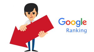 Google SERP Ranking Penalty