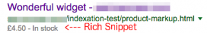 Rich Snipet